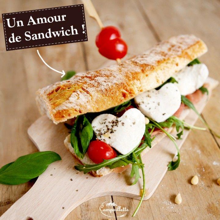 Un amour de sandwich recettes pinterest le froid sandwiches et rigolo - Idee de sandwich froid ...