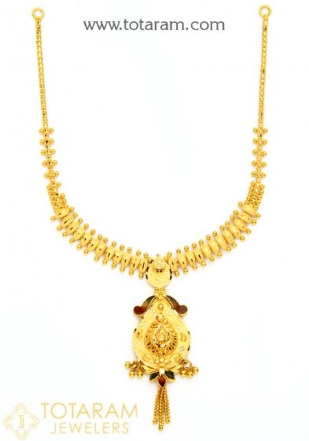 22K Gold Necklaces for Women and Gold Chain Necklaces View our