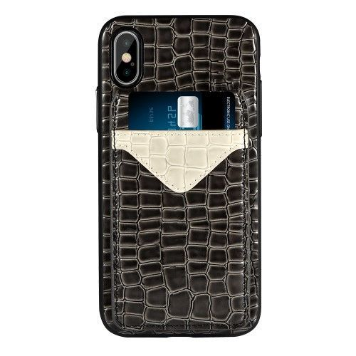 coque iphone x croco