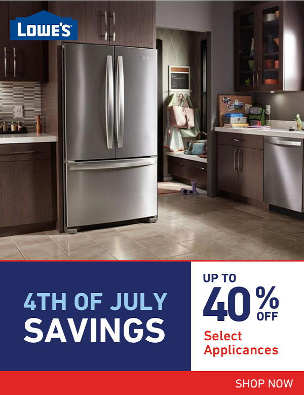 Lowe S 4th Of July Deals Appliance Sale Fabulous Kitchens Appliance Deals