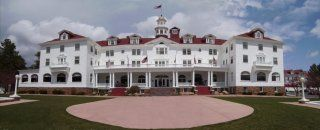 Stanley Hotel in Estes Park. Oooohhhh, scary! #colorado