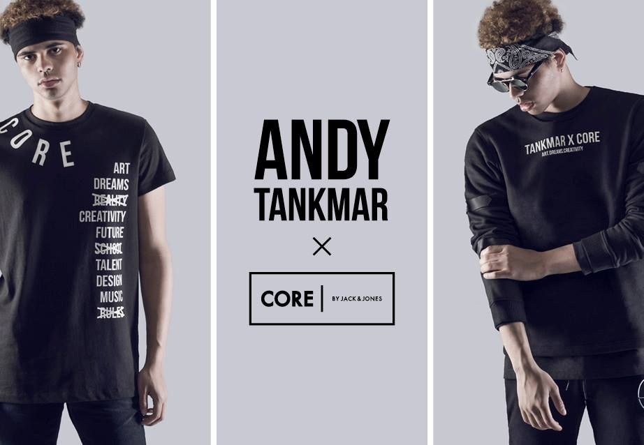 T-shirts and sweats? Go see the collection from Andy Tankmar x CORE by