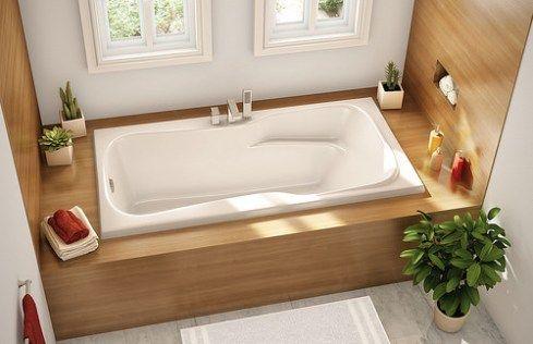 ba os con tina decoraci n de ba os con ba era design pinterest badezimmer badewanne und bad. Black Bedroom Furniture Sets. Home Design Ideas