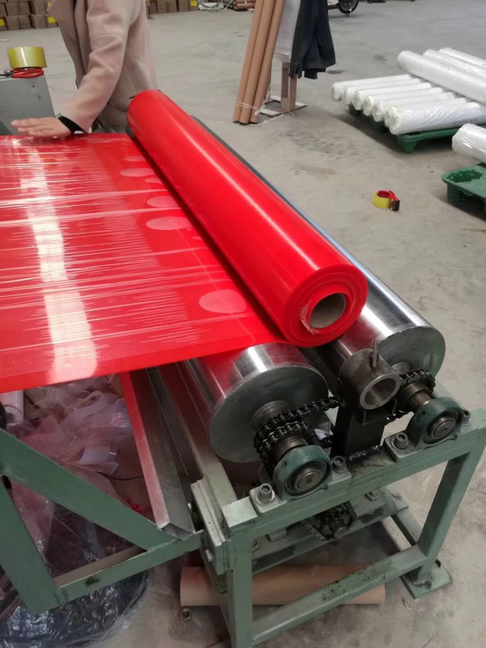 Red Silicone Sheet Rubber Transparent Silicone Silicone Rubber Silicone Sheets