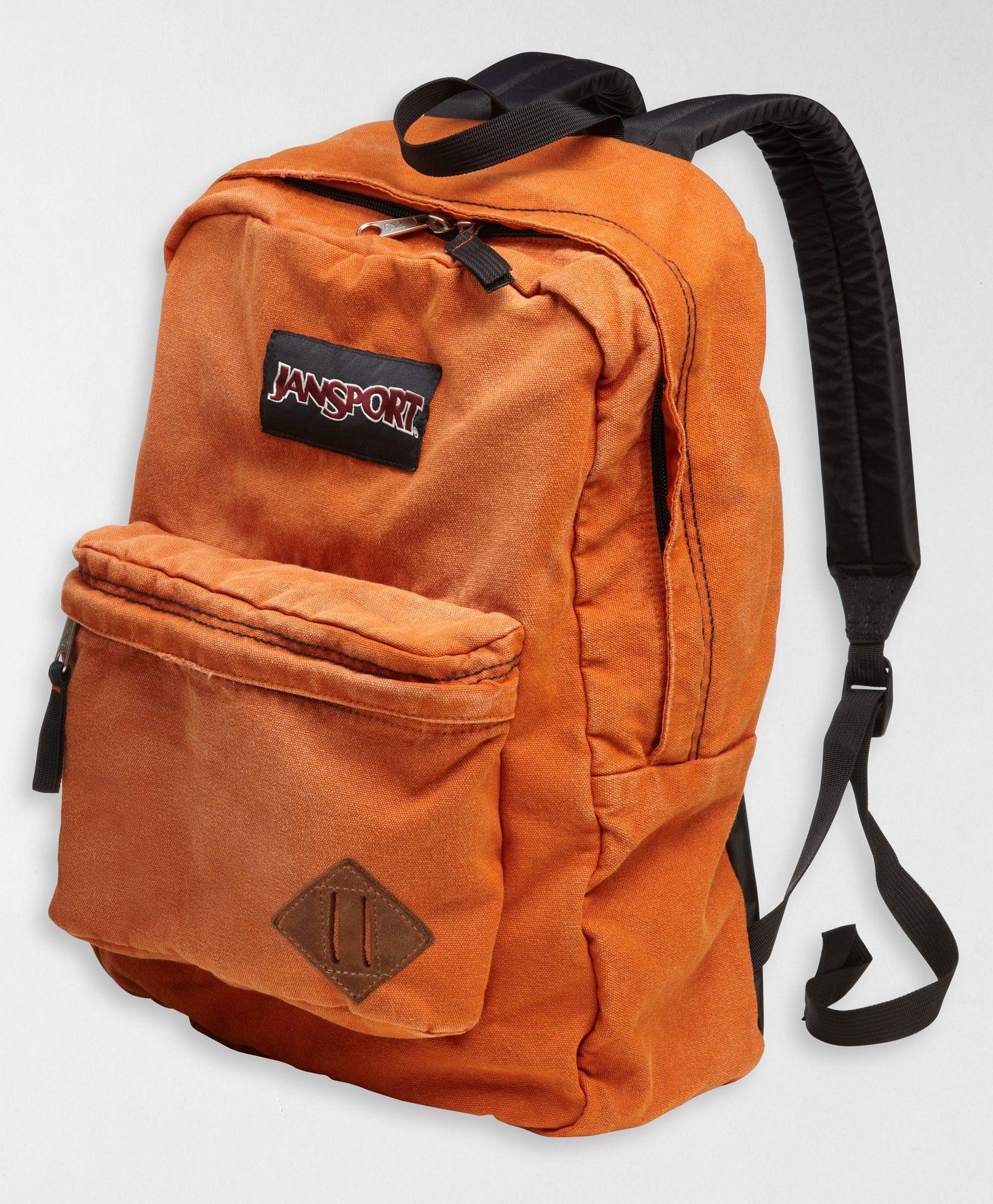huge inventory 2a27a 9311b Levi s Jansport Backpack - Orange. Yes please!!!