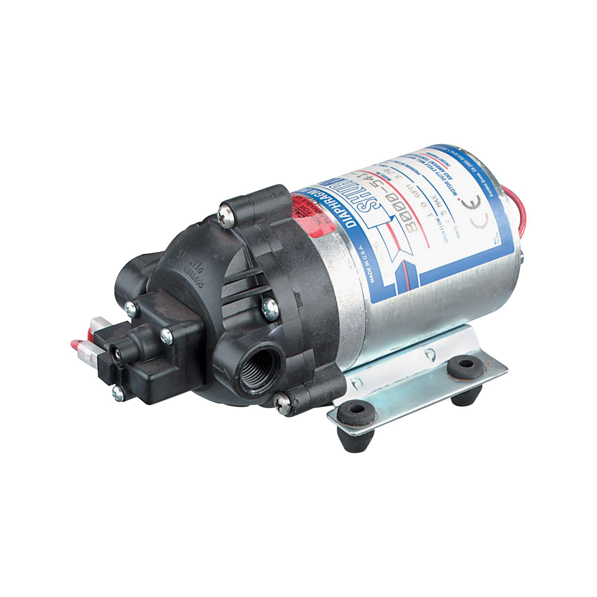 SHURflo On-Demand Sprayer Diaphragm Pump — 1 GPM, 60 PSI, 12