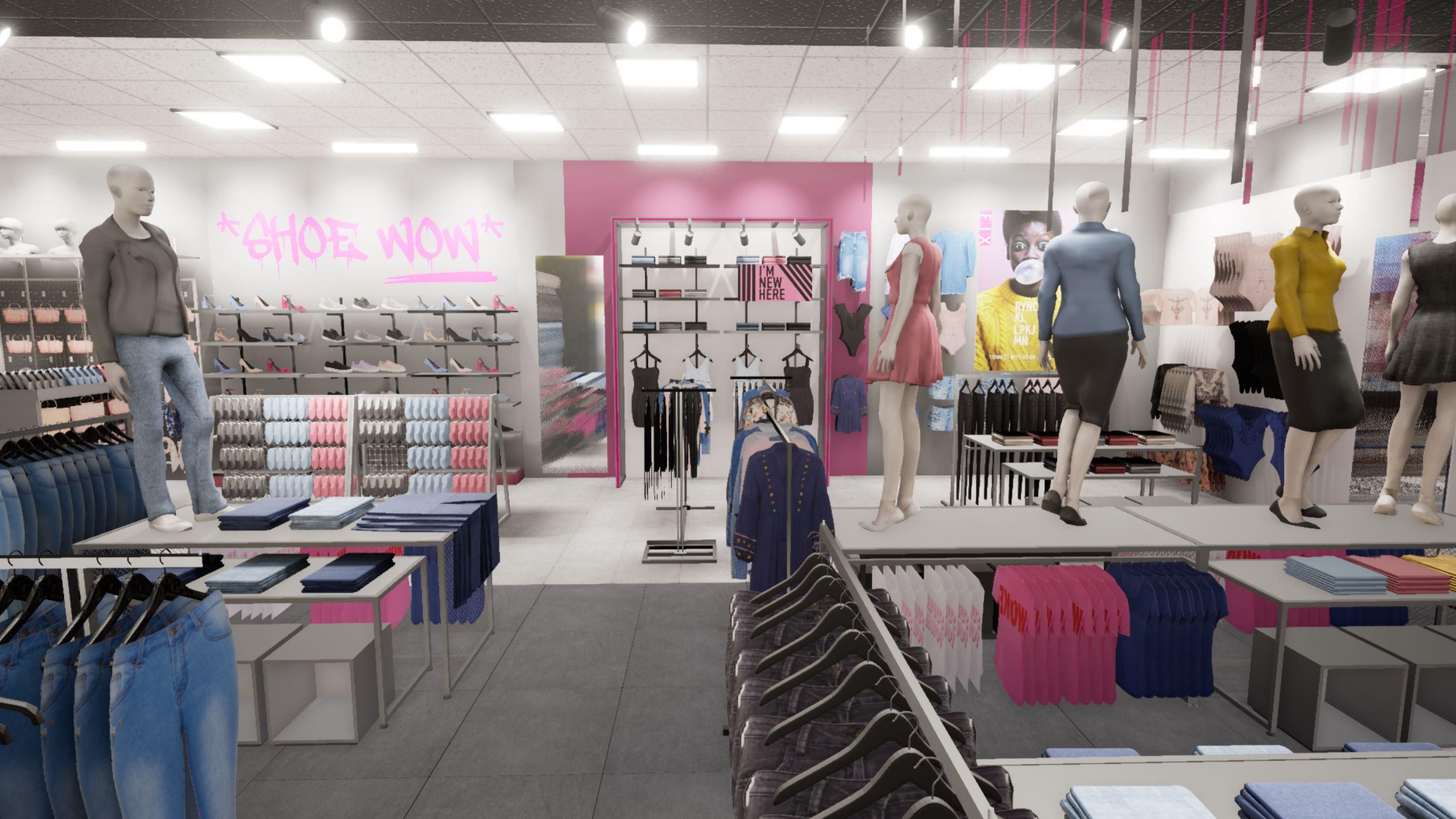 Under Maintenance Conceptual Design Retail Design Store Design