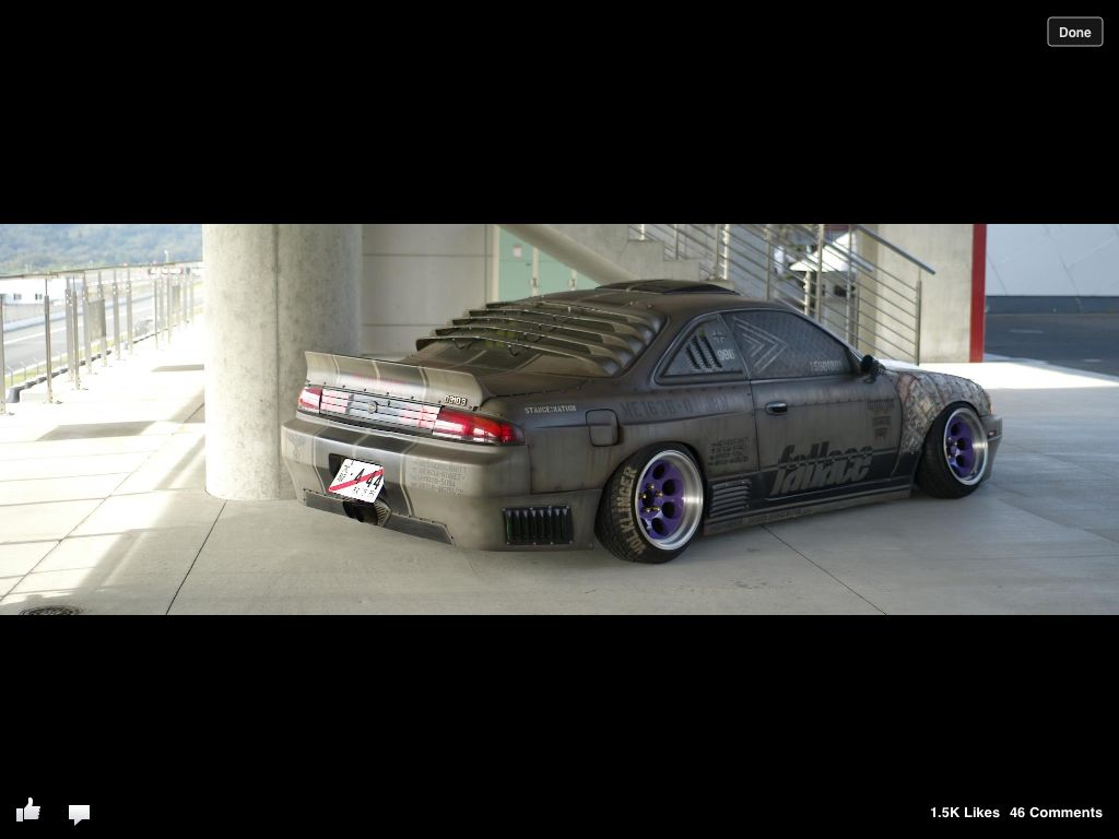 Amazing Drift Car Look At That Stance Slammed Hellaflush Drift