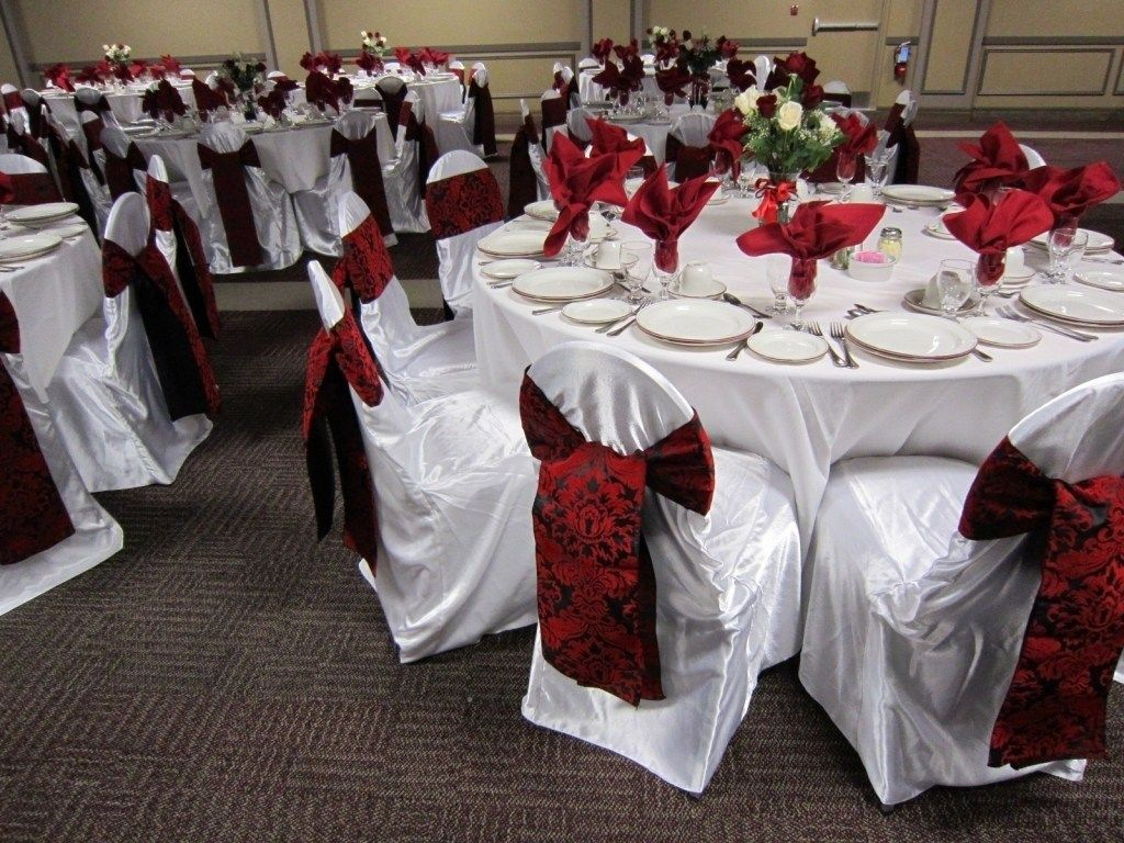 Black And White Damask Wedding Decorations On Decorations With