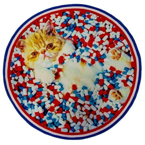 Seletti Cat vloerkleed 194 #kleed #vloerkleed #Cat #kat #zacht #speels #origineel #Seletti #design #Flinders