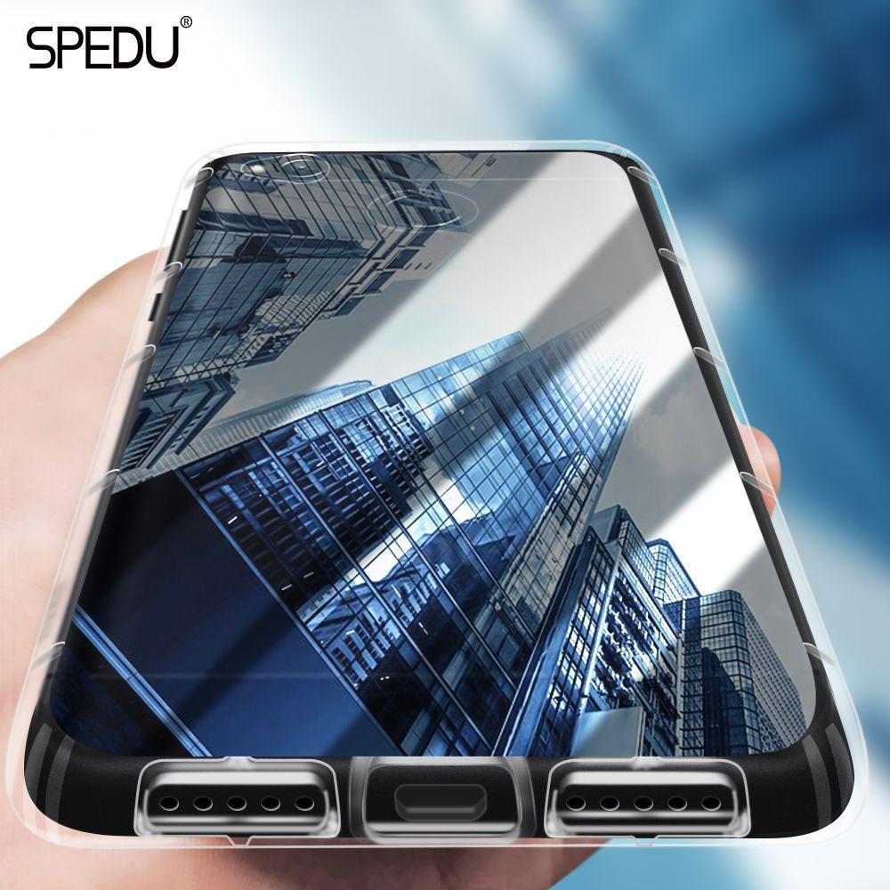 Spedu Phone Case For Xiaomi Mi A1 Mi6 Mi5x Cases Redmi Brushed Carbon Armor Hard Soft Mi5s 5s Note 4x 5a Pro Transparent Cover Price 900 Free