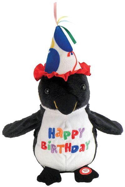 Happy birthday penguin