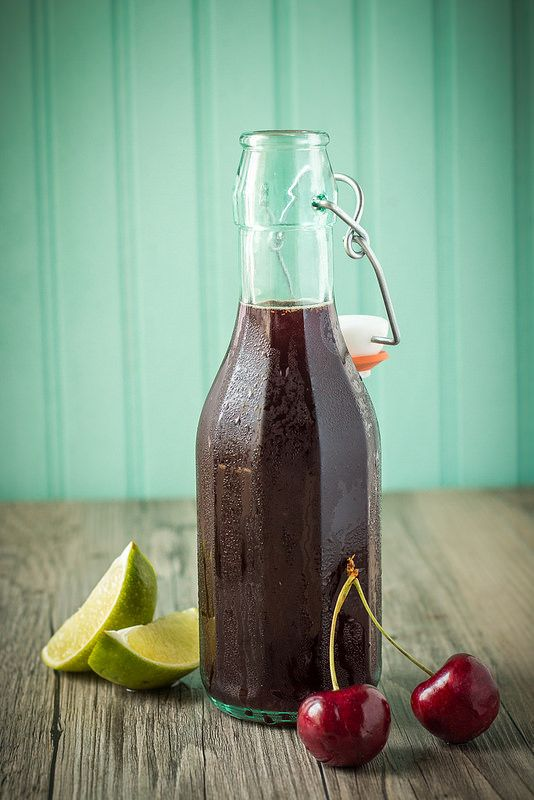 Cherry Lime Simple Syrup | Will Cook For Friends