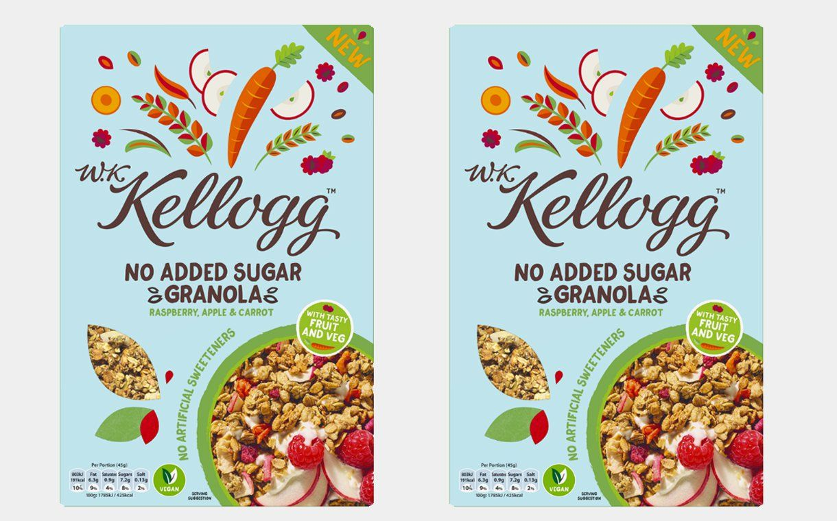 Kellogg S Introduces Vegan Cereal With Added Vegetables Fruits And Veggies Fruit And Veg Food