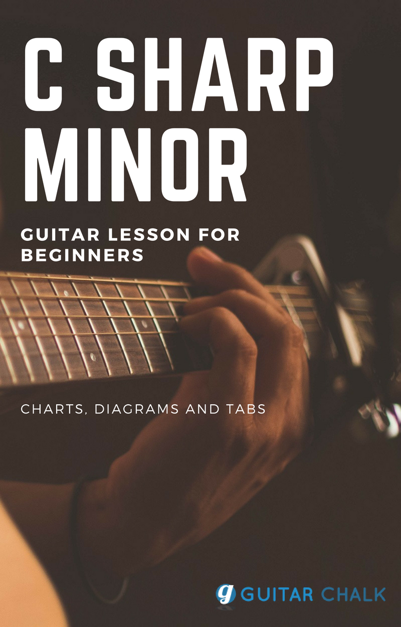 C Sharp Minor Guitar Chord Lesson For Beginners With Diagrams