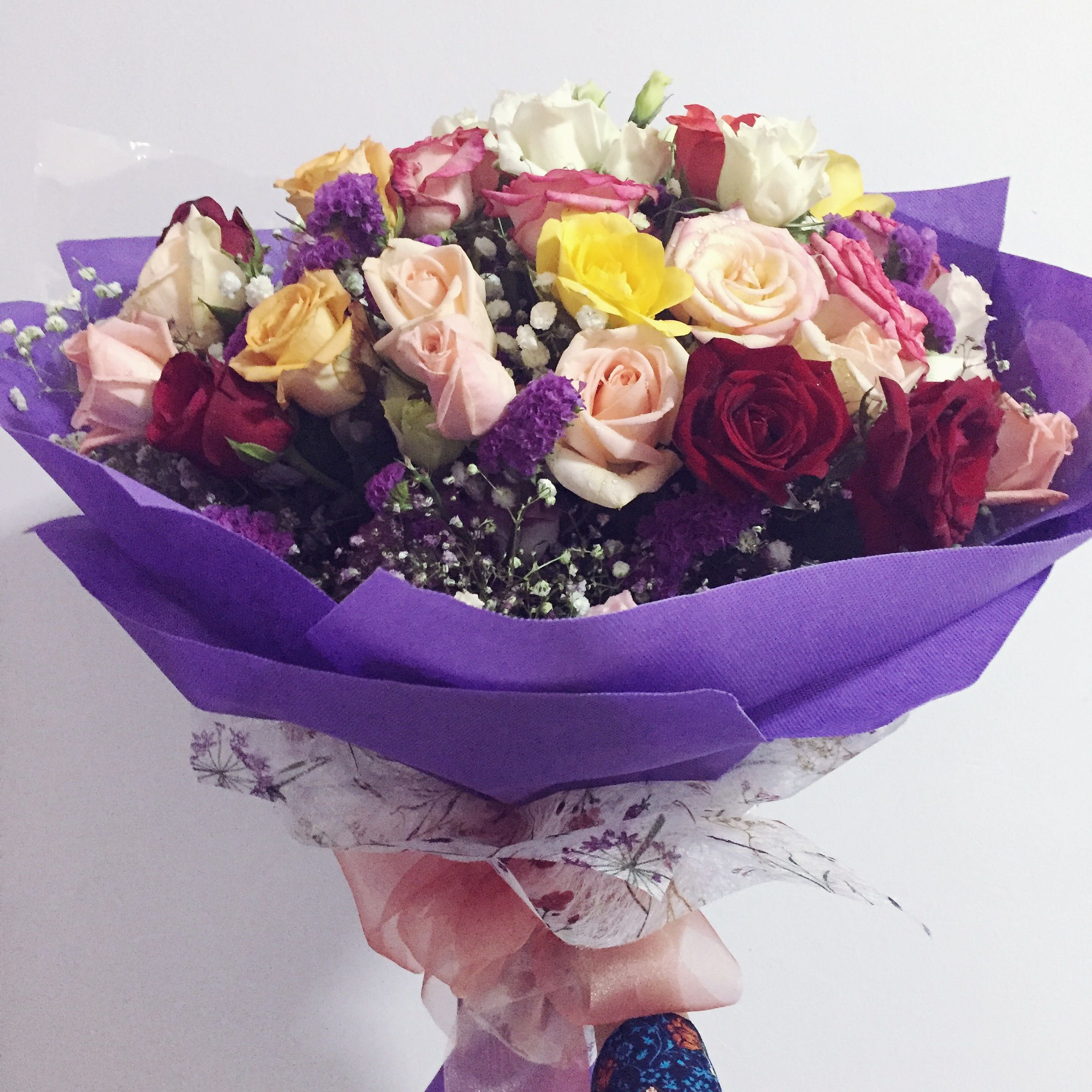 Big Bouquet Of Roses Flowers Pinterest Flowers