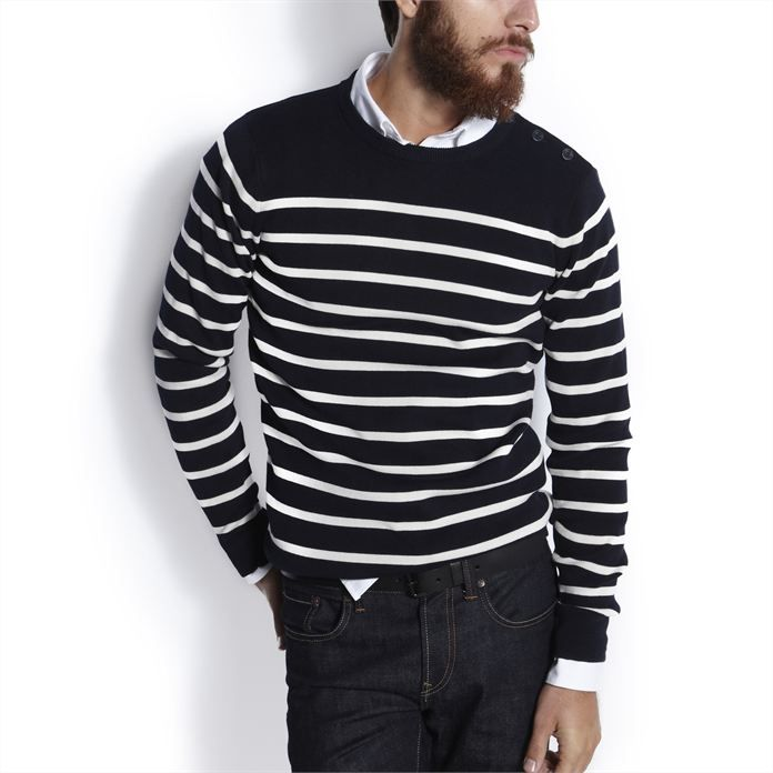 74065db5ccc85 Pull marin bleu - (Jules) - tendance homme 2014 | Pullovers | Pull ...