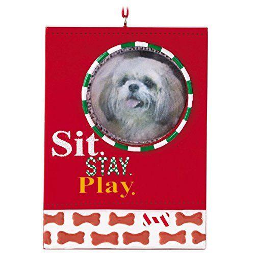 Classic Dog Frame Hallmark Gift Ornament Pets Hallmark https://www ...