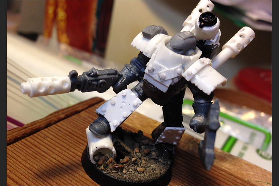 Ork inspired Death Guard of Nurgle