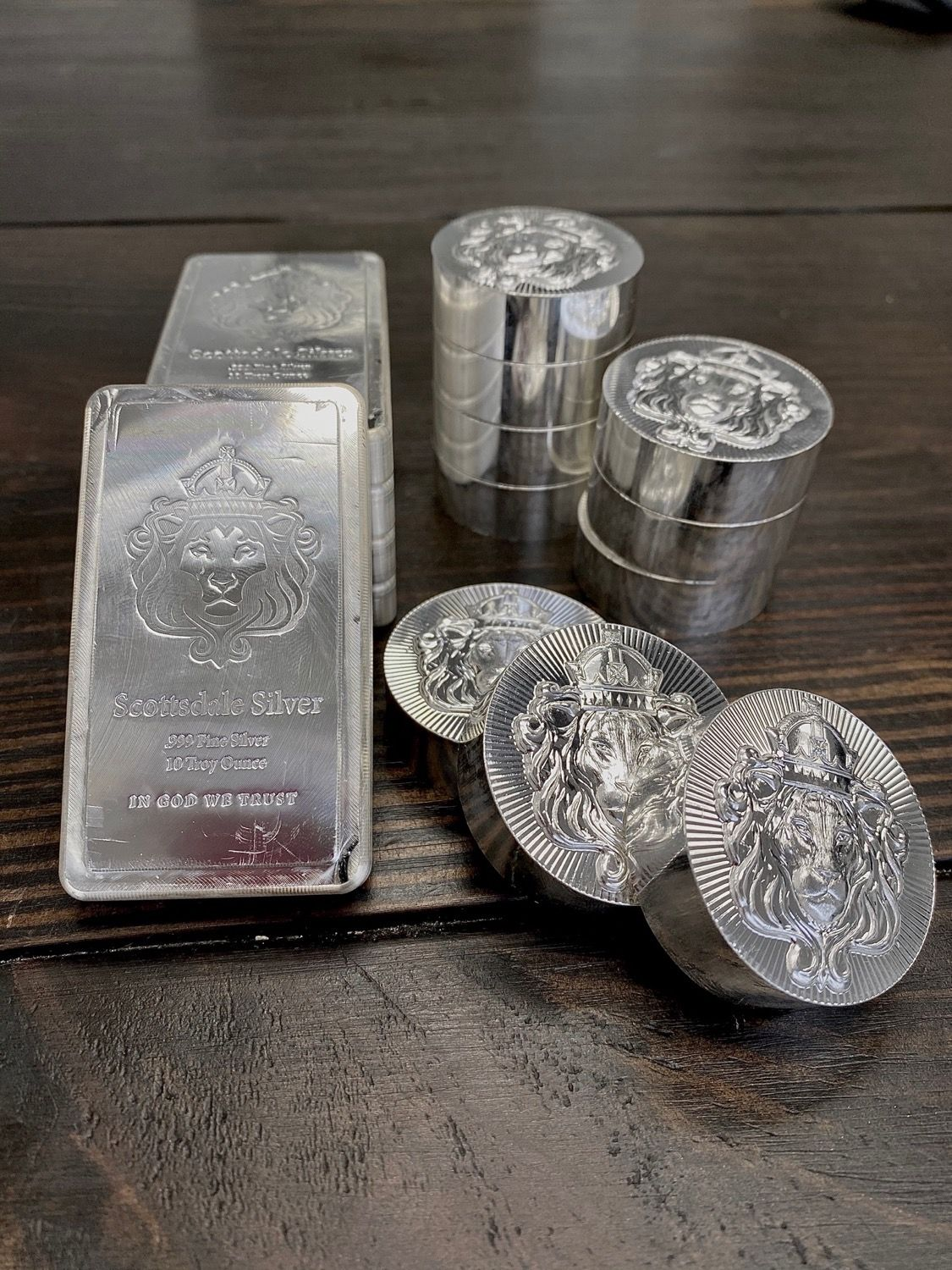 Scottsdale Silver Stackers In 2020 Silver Bullion Silver Coin Prices