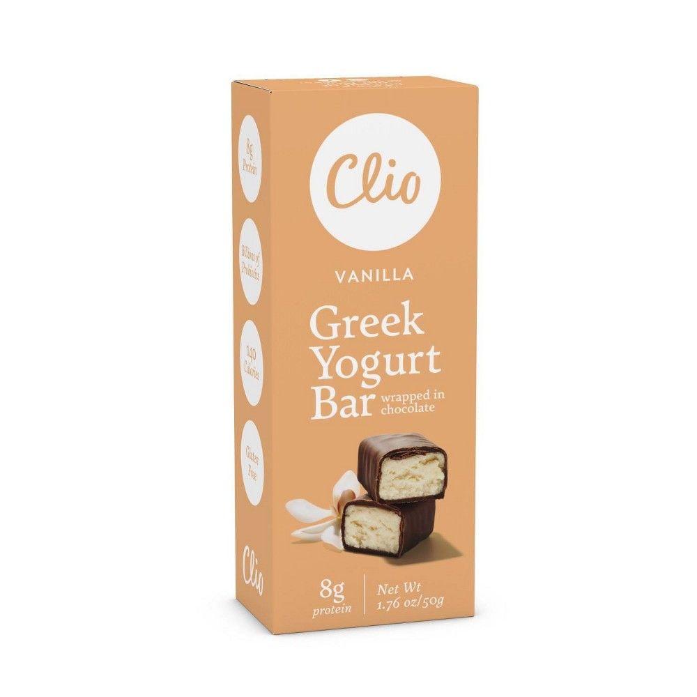 Clio snacks vanilla greek yogurt bar 176oz in 2020