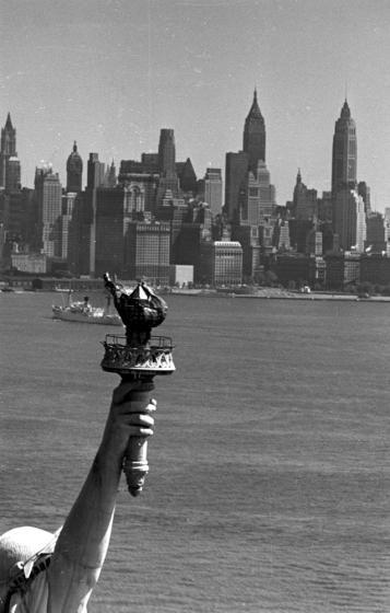 Statue of Liberty, 1950.