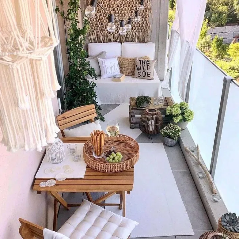 71 Comfortable Home Balcony Decoration Design And Ideas 34 Home Design Ideas Small Balcony Decor Terrace Decor Small Balcony Design