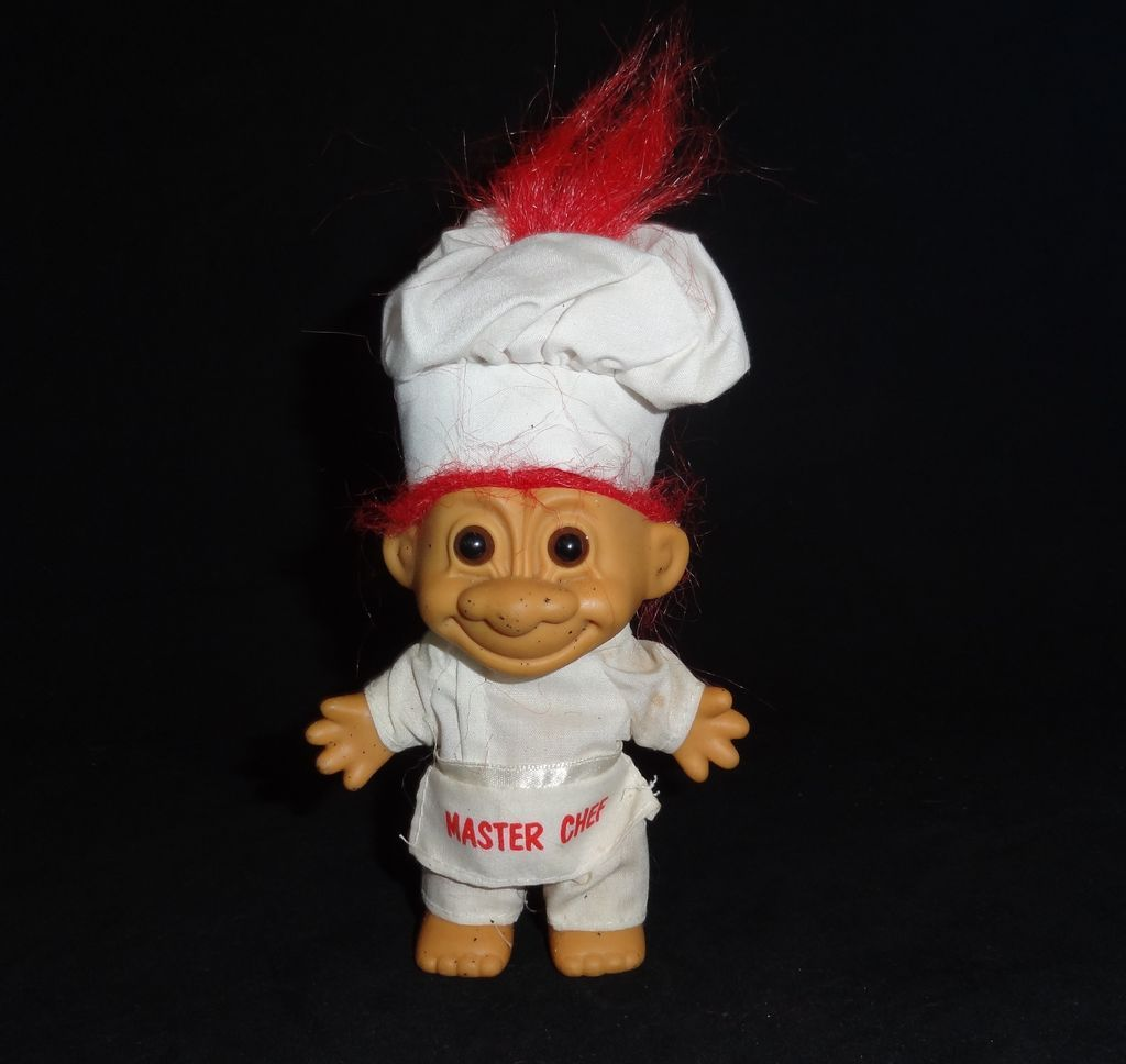 Vintage Master Chef Troll Doll By Russ