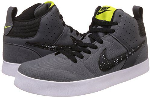 23e5f4af24c Nike Men s Liteforce III Mid Dark Grey Bright Cactus - Black-White Casual  Shoes