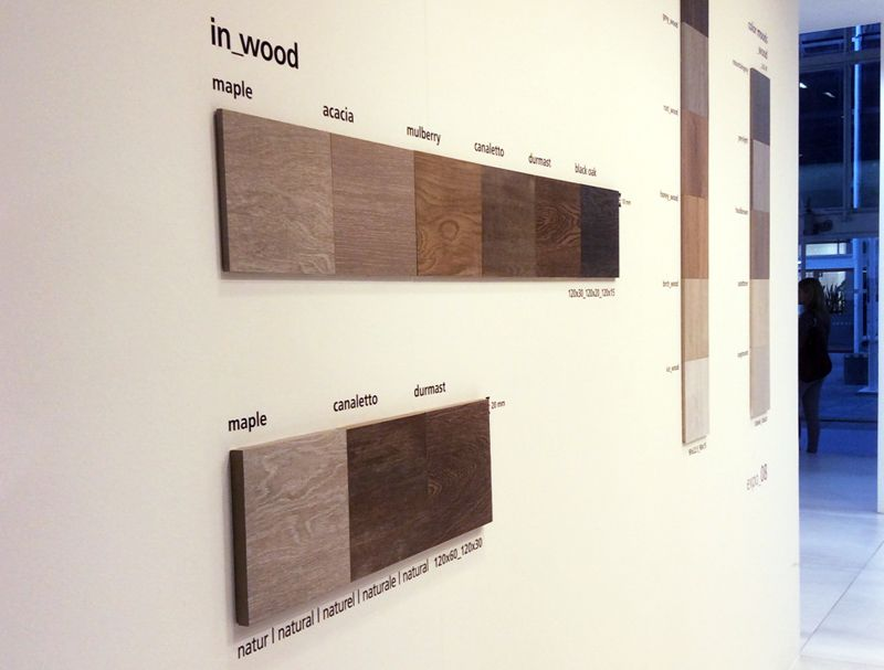 In_Wood #wood effect porcelain tiles