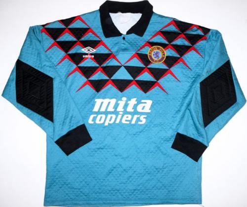 Aston Villa Football Shirt 1990 1992 Football Shirts Arsenal Shirt Aston Villa