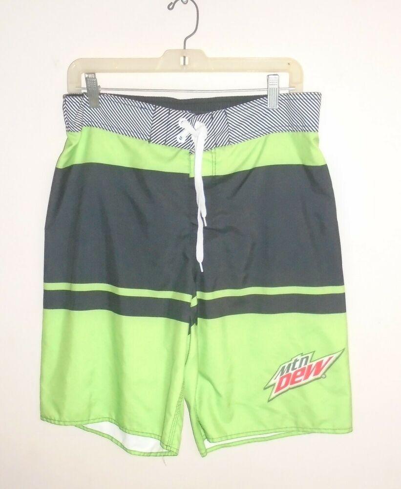 Mountain Dew Logos Men/'s Boxer Briefs Underwear Black