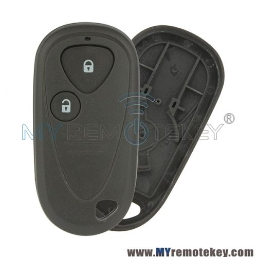Remote Fob Shell Case 2 Button For Acura (With Images