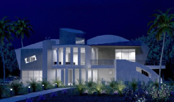 Post Modern House Style Luxury House Plans Luxury Modern Homes Luxury Homes Dream Houses