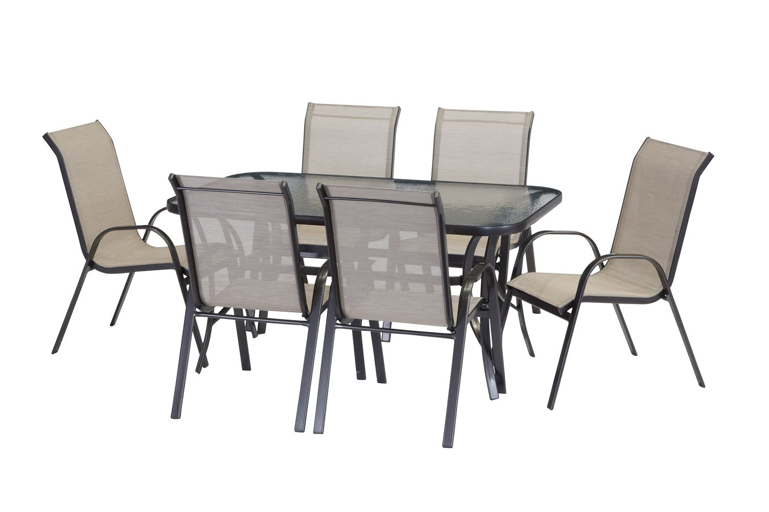 barbeques galore products palma 7 piece dining setting 199 rh pinterest com