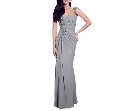 Dearta Women's Sheath Sweetheart Floor-Length Social Ocassion Dress US 2 Silver Dearta http://www.amazon.com/dp/B00GIEDW84/ref=cm_sw_r_pi_dp_rMhoub0AA1C42