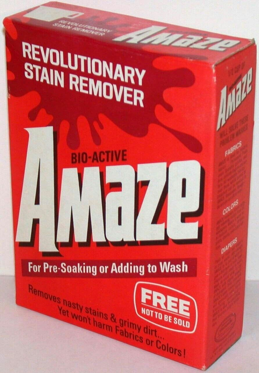 Amaze Bio Active Laundry Pre Soak Lever Brothers Answer To Biz