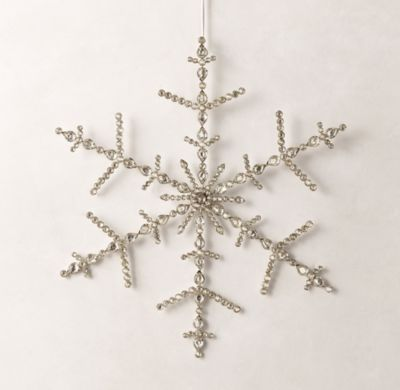 Grand Victorian Glass Snowflake | A\'s room | Pinterest
