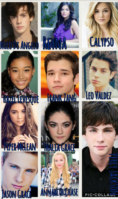Percy Jackson HoO Dream Cast!! Logan Lerman as Percy ...