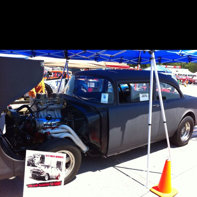 'Two Lane Blacktop' 55 Chevy. One Of Three Original Cars