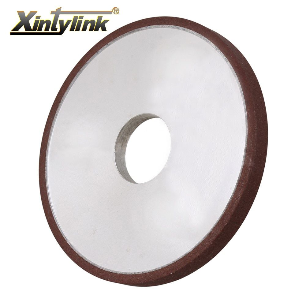 Xintylink Durable Diamond Coated Parallel Grinding Wheel 180 Grit Cutter Grinder For Carbide Metal 200mm 180mm 150mm 125mm 10 Metal Percussion Drilling Durable