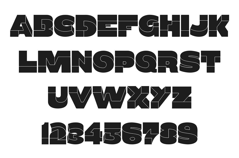 Oxymora Typeface By Birgit Palma Mc Escher Typeface Typography