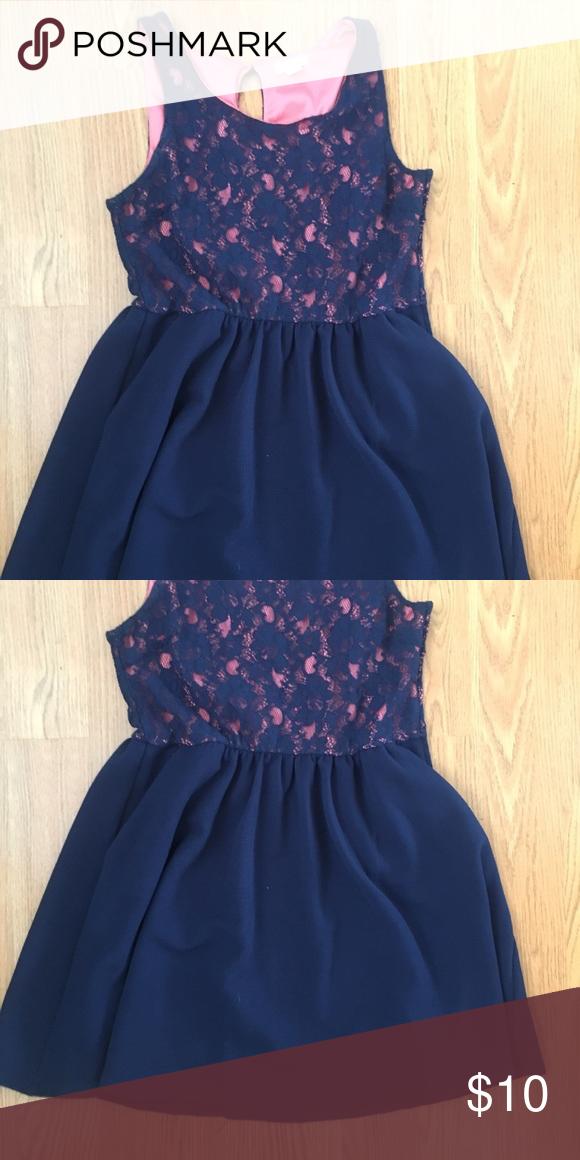 3e80f704cf75 Cute blue dress
