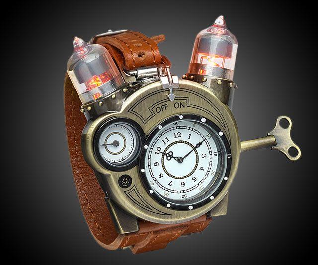 Tesla Watch Steampunk Watch Steampunk Accessories Think Geek