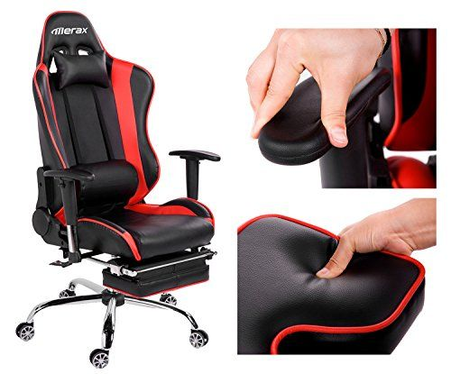 Merax Big and Tall Back Erogonomic Racing Style Computer Gaming Office Chair Adjustable Chair -Black/red  http://www.furnituressale.com/merax-big-and-tall-back-erogonomic-racing-style-computer-gaming-office-chair-adjustable-chair-blackred/