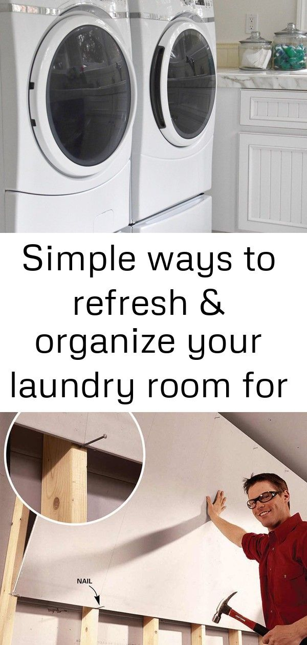 simple ways to refresh organize your laundry room for on fast and easy ways to refresh your home on a budget id=53857