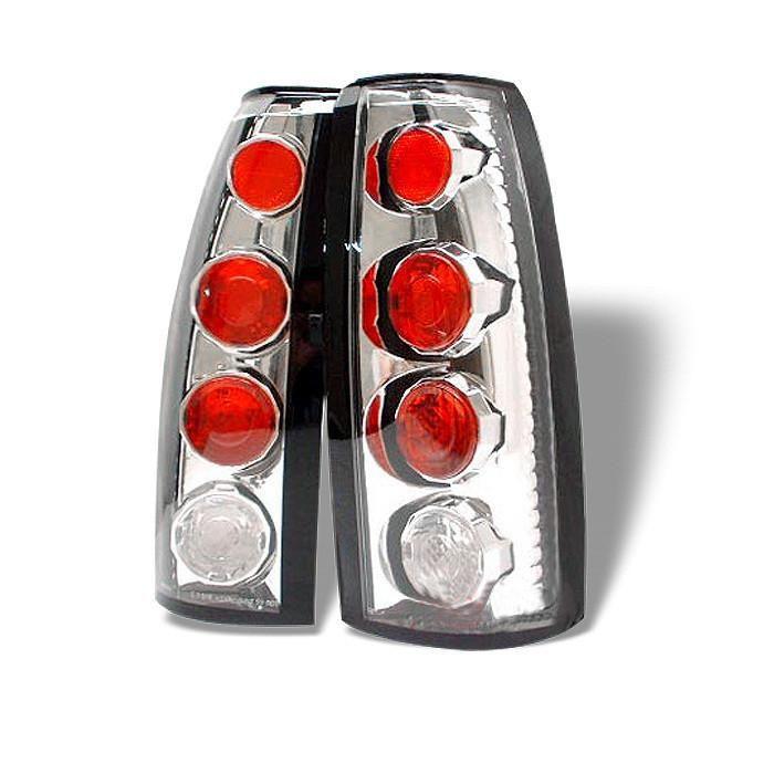 Chevy GMC 88-98 C//K Series 1500 2500 3500 Black Smoked LED Rear Tail Lights Lamp