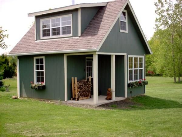 The Urabn Craftman tiny house from Handcrafted Movement 290 sq ft
