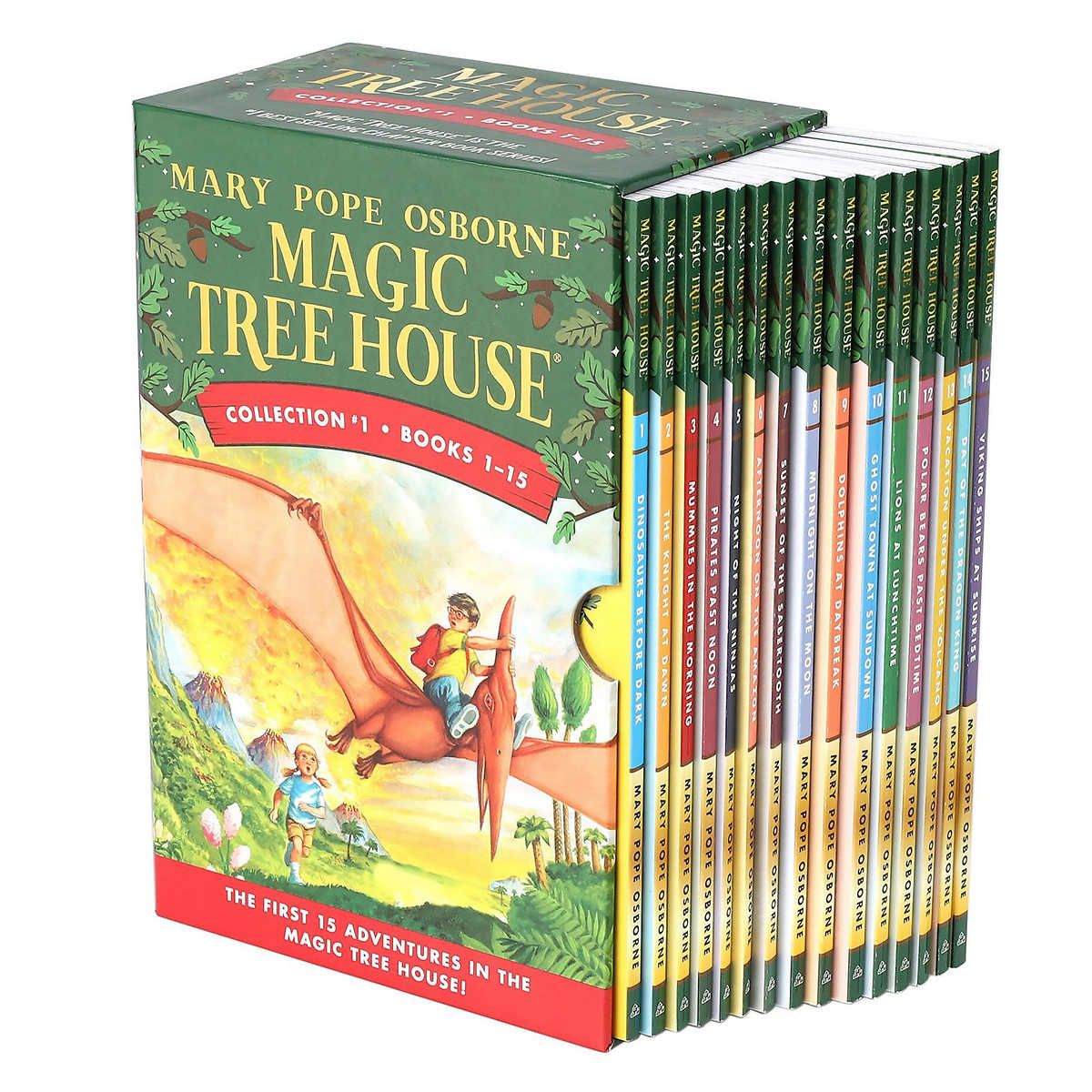 Magic Tree House Collection 1 1 15 Book Box Set By Mary Pope