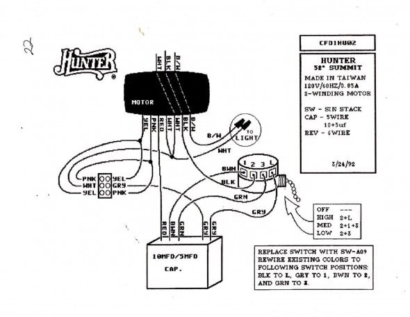 Hunter Ceiling Fan Sd Switch Wiring Diagram | Diagram ... on